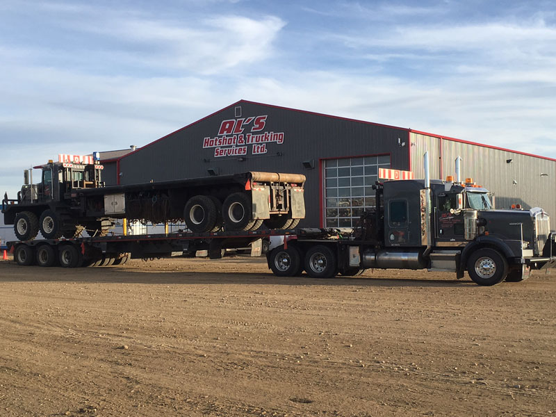 Al's Hotshot & Trucking Services   For 24 hour service call